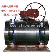 石油和天然气专用管线球阀|锻钢球阀