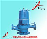 化工泵,SPG屏蔽立式管道化工泵,高層增壓給水泵,三洋化工泵廠家