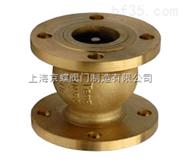 H41H-T全铜消声止回阀  全铜消声止回阀