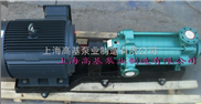 多级泵型号,高扬程耐高压力卧式多级离心泵