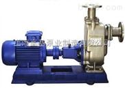 100ZWP100-20耐腐蝕不銹鋼自吸泵,316不銹鋼無堵塞自吸泵