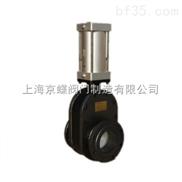 增韧结构陶瓷双滑板闸阀(气动)   陶瓷阀门