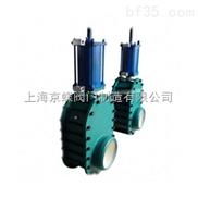 焊接式增韧结构陶瓷双滑板闸阀(气动)  陶瓷阀门