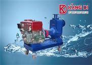 KDC农用型抗旱抢险灌溉柴油机自吸排水泵/上海小型单缸柴油机排污泵厂