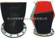 排污橡胶止回阀应用于防水系统,排放系统,水泵出口阀体采用全橡胶设计恒泰管道