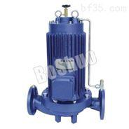 单级单吸屏蔽式管道离心泵-高层建筑增压送水泵
