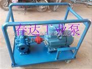 KCB-KCB型小推车防爆齿轮泵 移动式齿轮泵 圆弧泵 沥青泵