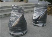 上海排污阀DN200卡箍式鸭嘴阀 鸭嘴形柔性止回阀 鸭嘴形橡胶平嘴阀